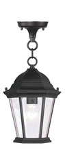Livex Lighting 7559-04 - 1 Light Black Chain Lantern