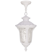 Livex Lighting 7854-03 - 1 Light White Chain Lantern