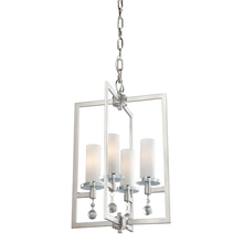 Artcraft AC10274 - Melbourne 4 Light  Brushed Nickel Chandelier
