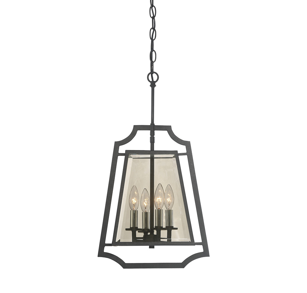 Ives 4 Light Foyer Pendant