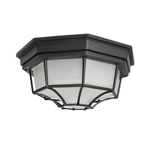 Maxim 1020BK - Crown Hill-Outdoor Flush Mount
