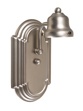 Jeremiah 11708BN1 - Racetrack 1 Light Arch Arm Wall Sconce in Brushed Satin Nickel
