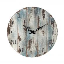 Sterling Industries 128-1008 - Wooden Roman Numeral Outdoor Wall Clock