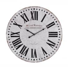 Sterling Industries 171-005 - Aged White Wall Clock