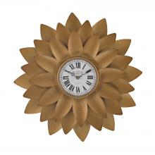 Sterling Industries 171-018 - Gold Petal Wall Clock