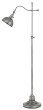 "CAL Lighting BO-2588FL-AS - 62"" Height Metal Floor Lamp In Antique Pewter Finish"