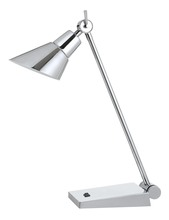 CAL Lighting BO-2690DK - 7W, 450 Lumen, 3000K LED Adjustable Metal Desk Lamp With Rocker Switch