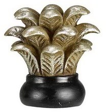 CAL Lighting FA-5037A - Leaf resin finial