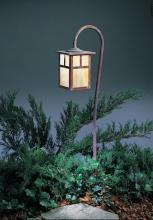 "Arroyo Craftsman LV27-M6EGW-VP - low voltage 6"" mission fixture without overlay (empty)"