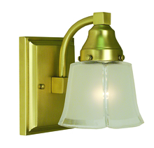 Framburg 1661 SB - 1-Light Satin Brass Taylor Sconce