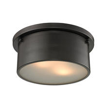 ELK Lighting 11810/2 - Simpson 2 Light Flushmount In Oil Rubbed Bronze