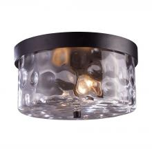 ELK Lighting 42253/2 - Grand Aisle 2 Light Outdoor Flushmount In Weathe