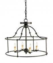Currey 9878 - Fitzjames Black Small Lantern